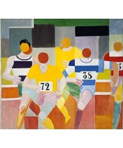 Robert Delaunay, Die Läufer (Les Coureurs). 1926.