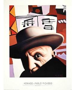 Alan Bortman, Hommage to Pablo Picasso