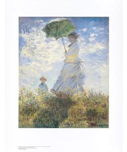 Claude Monet, Frau mit Sonnenschirm