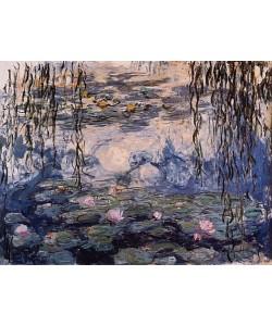Claude Monet, Seerosen und Weidenzweige