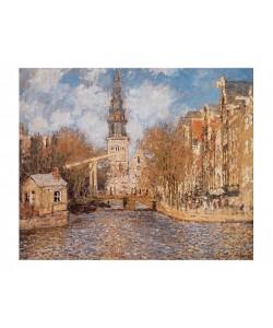 Claude Monet, Groenburgwal und die Südkirche