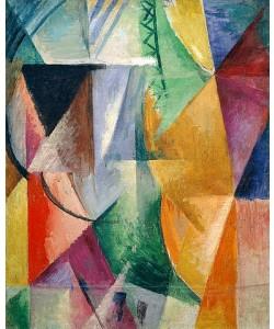 Robert Delaunay, Fenster. Studie für Drei Fenster. 1912