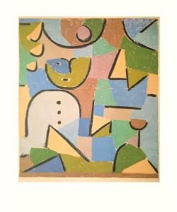 Paul Klee, Figur im Garten (Offset)