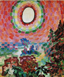 Robert Delaunay, Paysage et Disque. 1906