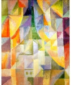 Robert Delaunay, Das Fenster. Um 1912