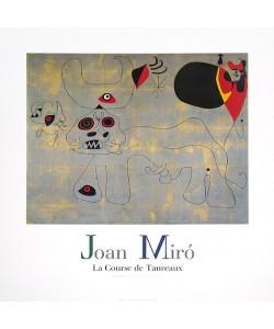Joan Miro, Stierkampf (Offset)