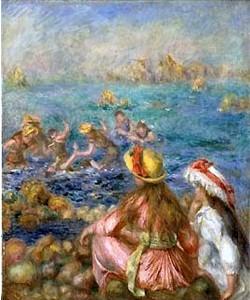 Auguste Renoir, Badende. 1892