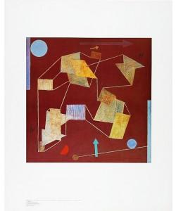 Paul Klee, Auftrieb und Weg (Offset)