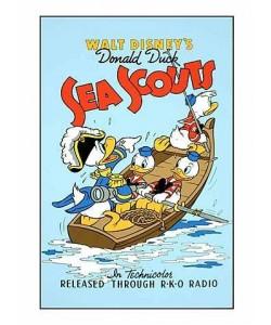 Disney Walt Sea Scouts (Siebdruck)