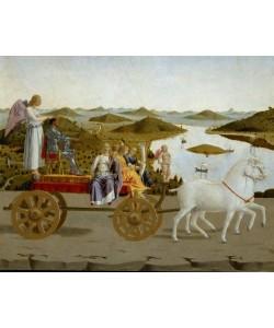 Piero della Francesca, Triumphzug des Herzogs von Urbino