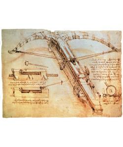 Leonardo da Vinci, Riesenarmbrust