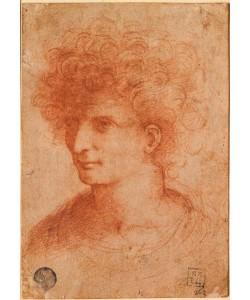 Leonardo da Vinci, Portrait, junger Mann