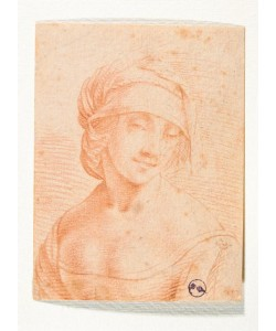 Leonardo da Vinci, Kopf einer jungen Frau