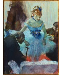 Edgar Degas, Tänzerin in der Garderobe