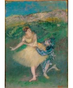Edgar Degas, Arlequin et Colombine