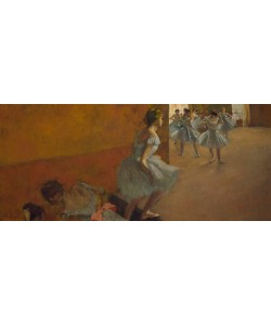 Edgar Degas, Danseuses montant un escalier