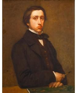 Edgar Degas, Portrait de l'artiste, dit Degas au porte-fusain