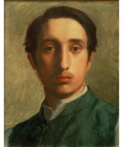 Edgar Degas, Degas en Gilet vert