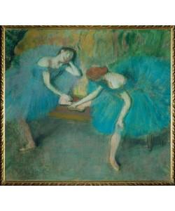 Edgar Degas, Deux danseuses au repos, ou Danseuses en bleu