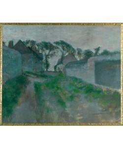 Edgar Degas, Rue de village Saint Valerysur-Somme