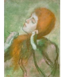 Edgar Degas, Frau beim Kämmen