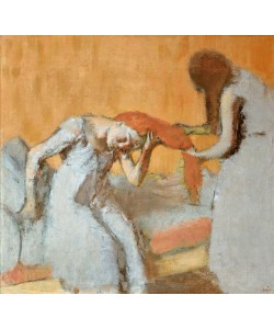 Edgar Degas, La coiffure