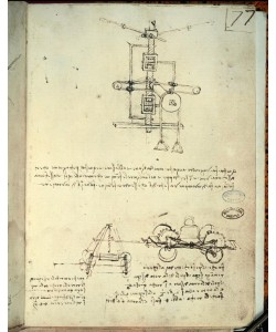 Leonardo da Vinci, Maschinen