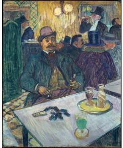 Henri de Toulouse-Lautrec, Monsieur Boileau au café