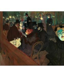 Henri de Toulouse-Lautrec, Im Moulin Rouge