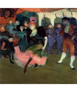 Henri de Toulouse-Lautrec, Marcelle Lender dansant le bolero de Chilperic
