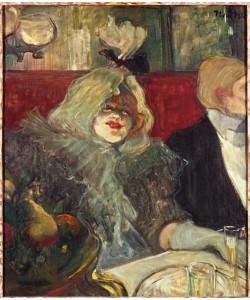 Henri de Toulouse-Lautrec, En Cabinet particulier ou La rat mort