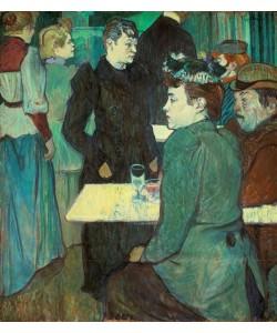 Henri de Toulouse-Lautrec, Un coin du Moulin de la Galette