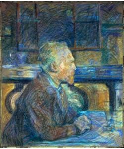 Henri de Toulouse-Lautrec, Bildnis Vincent van Gogh