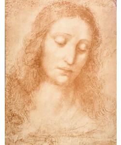 Leonardo da Vinci, Der Kopf Christi