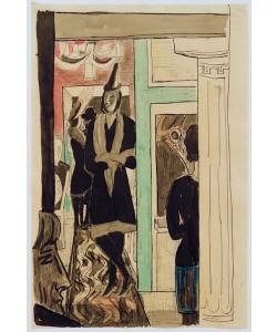 Max Beckmann, Cafe (Telefon)