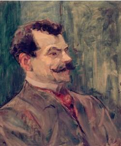 Henri de Toulouse-Lautrec, Porträt André Rivoire