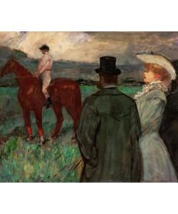 Henri de Toulouse-Lautrec, Au courses
