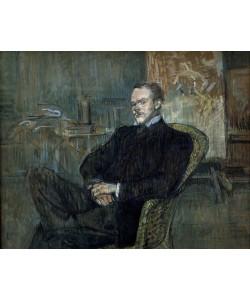 Henri de Toulouse-Lautrec, Portrait Paul Leclercq