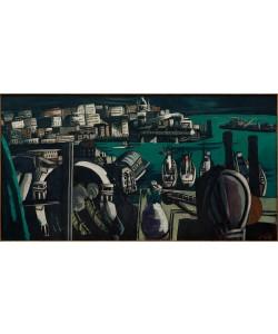 Max Beckmann, Blick auf Genua: Der Hafen von Genua