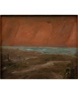 Max Beckmann, Trüber Abend am Meer
