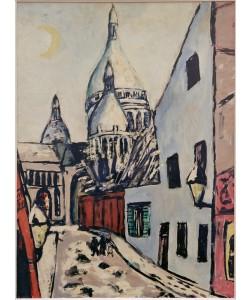 Max Beckmann, Sacre-Coeur im Schnee