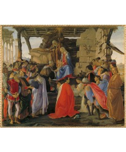 Sandro Botticelli, Die Anbetung der Könige