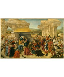 Sandro Botticelli, Anbetung der Könige