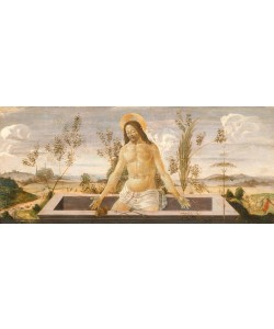 Sandro Botticelli, Christus im Grabe