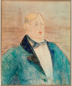 Henri de Toulouse-Lautrec, Oscar Wilde
