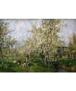 Marie Egner, An einem lichten Frühlingsmorgen