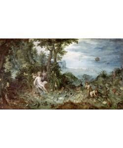 Jan Brueghel der Ältere, Allegorie des Wassers