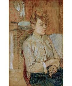 Henri de Toulouse-Lautrec, Frau mit Zigarette