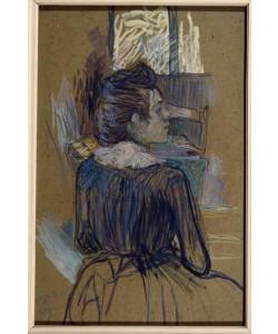 Henri de Toulouse-Lautrec, Frau am Fenster