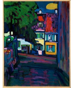 Wassily Kandinsky, Murnau – Häuser am Obermarkt